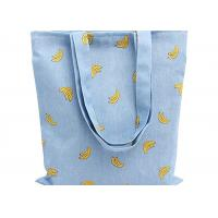 Buy cheap Banana Printed 12 Oz Natural Custom Canvas Bags Reusable Ideal for Groceries , Shopping product