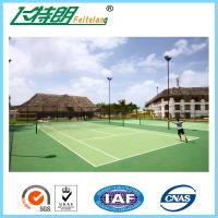 Acrylic Tennis Court Surface Outdoor Flooring Customized High Wearing Resistance