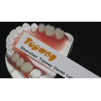 Buy cheap Strong And Durable Valplast Flexible Dentures / Dental Partials Denture For Loss Teeth Replacement Non Invasive product