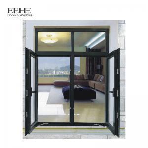 Double Glazing Glass Aluminum Casement Windows For Commercial Office Building