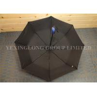 Buy cheap Pongee Material Self Opening And Closing Umbrellas , Totes Mini Automatic Umbrella product