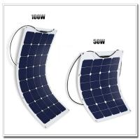 Buy cheap Yatch / Camping Use 12 Volt RV Solar Panels 32 PCS With Cable MC4 Connector product