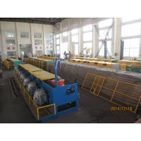 Buy cheap Automated Copper Wire Drawing Machine , Horizontal Welding Rod / Wire Nail Making Machine from wholesalers
