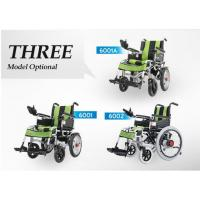 Buy cheap Big Wheel Manual And Electric Folding Wheelchair With Spray Material For Disabled People product