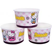 Buy cheap 8oz 12oz Custom Printed Ice Cream Containers , Disposable Ice Cream Bowls product