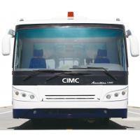 Professional 102 Passenger 200 Liter Airport Passenger Bus With PPG Painting