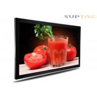 Buy cheap Full Color Wall Mounted Advertising Display , In Store Digital Signage product