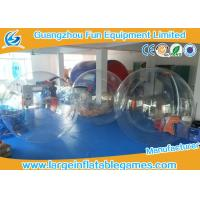 Buy cheap PVC / TPU Human Size Inflatable Walking Water Ball Sphere With Logo Printing product