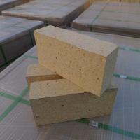 Buy cheap Customized Size Heat Resistant Bricks , High Alumina Fire Bricks Natural Yellow Color product