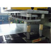 HDG Perforated Cable Tray Cold Forming Machine 1.2-2.0mm Thickness Gear Driven