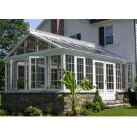 Buy cheap Modern Green Aluminium Greenhouse Polycarbonate , Portable Small Aluminium Greenhouse product