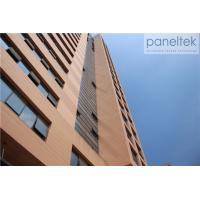 Buy cheap External Decorative Terracotta Facade Panels , Exterior Wall Cladding Sheets product
