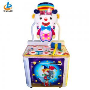 Clown Children'S Arcade Machines / Simulator Hammer Game Arcade Wooden Case