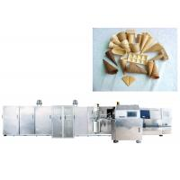 Fully Automatic Rolled Sugar Production Line With Stainless Steel Texture , High Speed