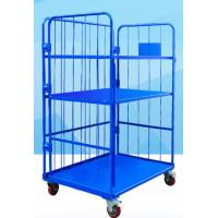 Corrosion Resistant Movable Wire Shelving With Casters For Logistics and Turnover Industries