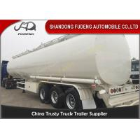 60000 Liters fuel tank truck trailer for edible cooking oil delivery sale