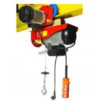 Mini Electric Wire Hoist With Moving Trolley Single Or Double Hook