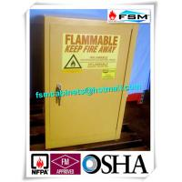 12 Gallon Flammable Liquid Storage Containers Lockable For Biological Laboratory