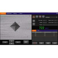 Buy cheap VicPad portable vickers hardness tester Software with Touch Panel product