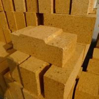 Buy cheap 55% Alumina Kiln Refractory Bricks Red Heat proof and Thermal Shock Resistance product