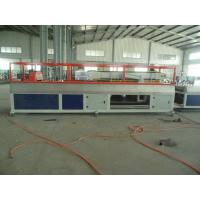 PE PP WPC Wall Panel / Decking Plastic Profile Production Line