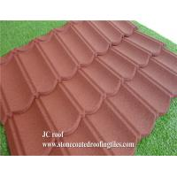 Buy cheap Stone Coated Steel Roof Tile Type and Al-Zn Alloy Coated metal Sheet Material Roof Tile product