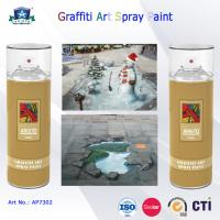 Buy cheap 400ml Canned Environmental Fast Drying Graffiti Spray Art Paint for Artist On Metal Wood product