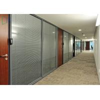 Buy cheap Comercial Division Aluminium Office Partition With Laminated Glass from wholesalers