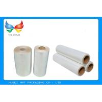 Buy cheap Water Soluble PVC Shrink Film Rolls High Shrinkage Ratio For Full Body Sleeves product