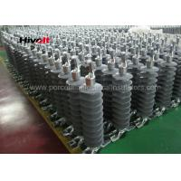 Buy cheap 46KV Horizontal Composite Line Post Insulator With Clamp Top And Gain Base product