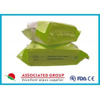 Buy cheap Tea - Tree OilBaby Wet Tissue Pearl Dot 20 * 17cm Sticked Lid Z Folding Type from wholesalers