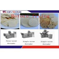 Buy cheap Large Capacity Corn Chips Making Machine , Healthy Tortilla Chips Production Line product