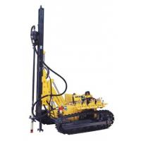 Environment friendly pneumatic  drilling rig machine Mobile with 2 cylinder diesel engine
