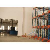 Buy cheap Multi Deep Shuttle Storage Pallet Racks 2 Aisles With 400W Travelling Motor product