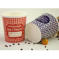 Buy cheap Restaurant Take Away Paper Soup Cups With Lids Biodegradable Anti - Breakage from wholesalers