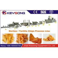 Buy cheap Extrusion Doritos Making Machine Full Automatic Food Grade Stainless Steel product