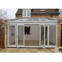 Buy cheap Customized Aluminium Frame Greenhouse Patio Enclosure Designs For Garden product