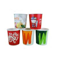 Buy cheap Full Colour Print Take Out Soup Bowls With Lids For Restaurant , Eco Friendly from wholesalers