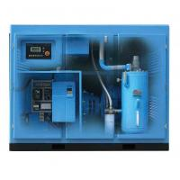 Stationary Two Stage Screw Compressor Air Cooled 37kw Electric