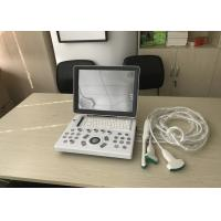 Buy cheap Laptop 15 Inch LED Diagnostic Veterinary Ultrasound Scanner With One Probe Connection product