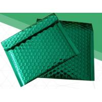 Buy cheap Self Adhesive Seal Custom Plastic Packaging Bags Green Bubble Mailers Damp Proof from wholesalers
