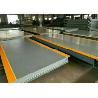 Buy cheap 100 Ton Electronic Lorry Weighbridge High Precision Weighing Load Cell product