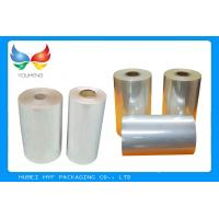 Buy cheap High Shrinkage 45 MICRON Transparency PVC Shrink Film For Label Printing product
