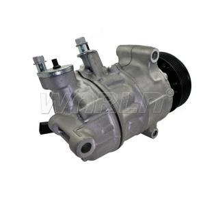 12V Volkswagen GOLF AC Compressor WXVW015 6PK Grooves Sliver Color