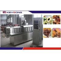 Buy cheap Chocolate Core Filled Snacks Making Machine Puff Snacks Production Line 100 - 150kg / H product