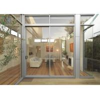 Buy cheap Sound Isulation Aluminium Sliding Doors With Flyscreen For Residential from wholesalers