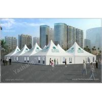 Custom Big 10X10 Gazebo Replacement Canopy Waterproof For Banquet Dinner Party