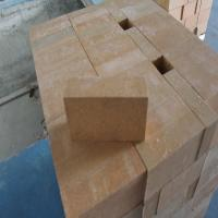 Buy cheap Magnesia Zirconia Kiln Refractory Bricks 76% MgO Insulating Fire Brick Light Yellow product