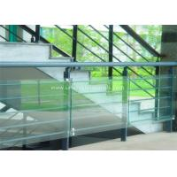 Buy cheap Decorative Glass Railing Laminated Safety Glass Grey CE / CSI Approve product