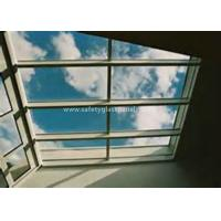Buy cheap Curtain Wall Glass Flat Laminated Safety Glass 5mm Toughened Glass product